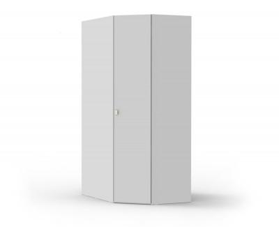 Armoire d'angle avec une porte battante