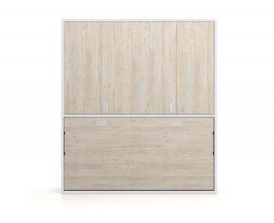 Lit escamotable et armoire à portes pliantes