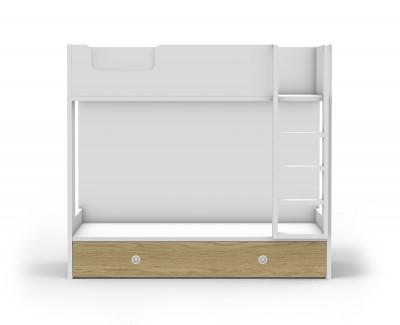 Lit superposé avec lit tiroir