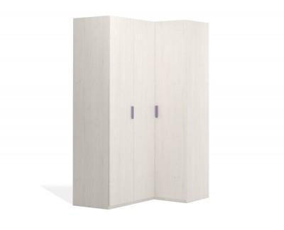 Armoire d'angle à portes pliantes